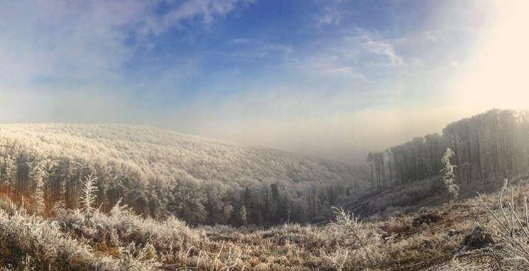 zima nad Skýcovom