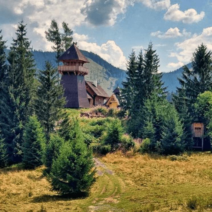 rozhľadňa Krajčov vrch v Nižnej Boci