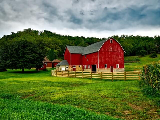 škandinávska farma v agroturistike