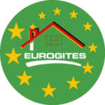 """logo Eurogites (Európsky zväz vidieckeho turizmu a """"Dovolenky na roľníckom dvore"""